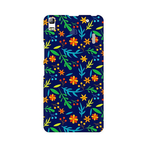 Vibrant Floral Pattern Lenovo K3 Note Phone Cover
