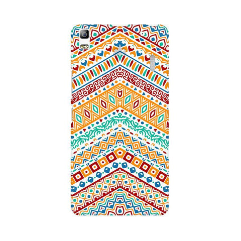 Wavy Ethnic Art Lenovo K3 Note Phone Cover