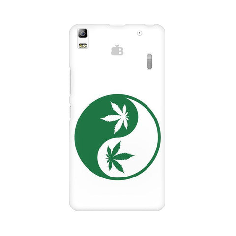 Weed Yin Yang Lenovo K3 Note Phone Cover