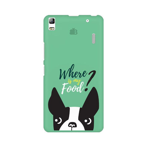 Where is my Food Lenovo K3 Note Phone Cover