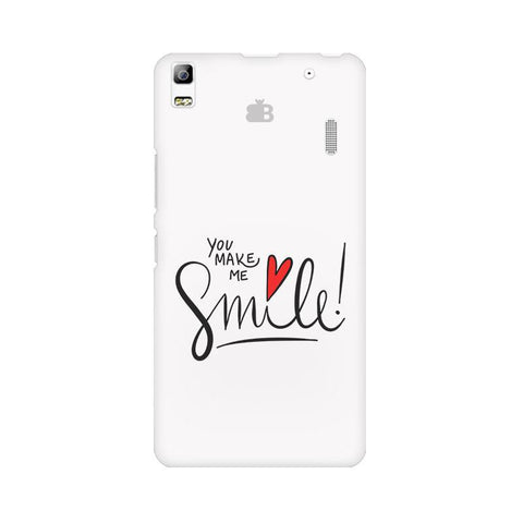 You make me Smile Lenovo K3 Note Phone Cover