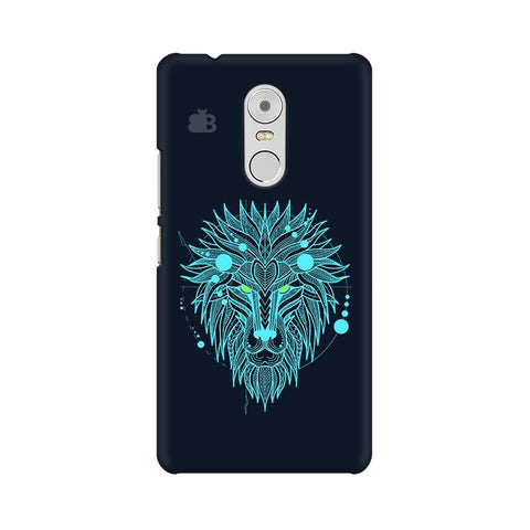 Abstract Art Lion Lenovo K6 Note Phone Cover