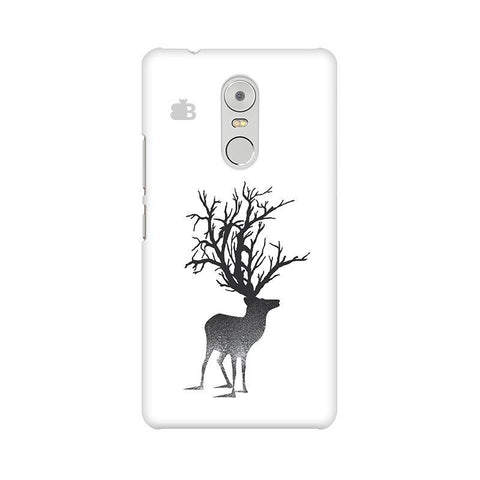 Abstract Deer Lenovo K6 Note Phone Cover