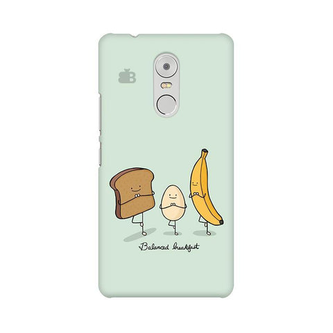 Balanced Breakfast Lenovo K6 Note Phone Cover