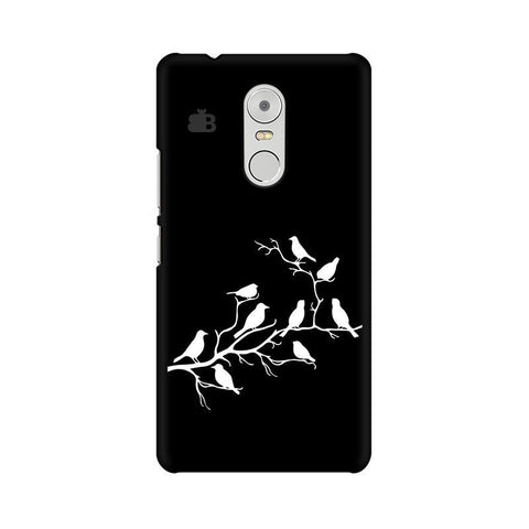 Birds on branches Lenovo K6 Note Phone Cover