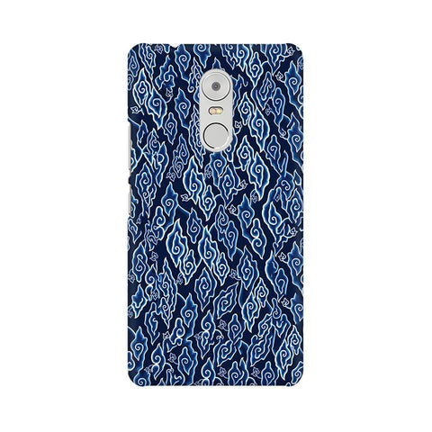 Blue Batic Art Lenovo K6 Note Phone Cover