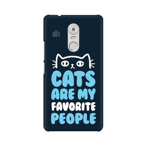 Cats favorite People Lenovo K6 Note Phone Cover