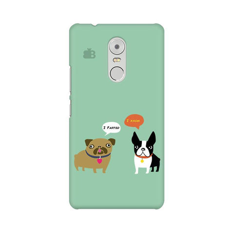 Cute Dog Buddies Lenovo K6 Note Phone Cover