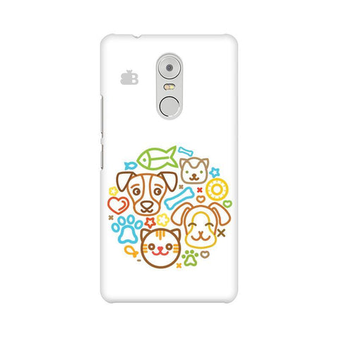 Cute Pets Lenovo K6 Note Phone Cover