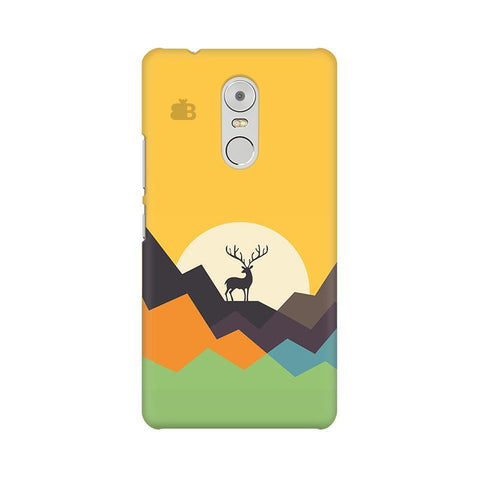 Deer in Mountains Lenovo K6 Note Phone Cover