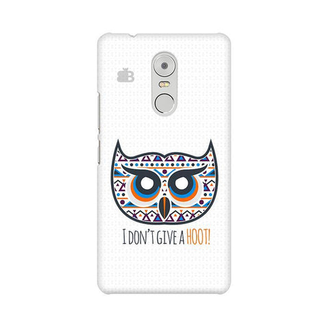 Dont give a Hoot Lenovo K6 Note Phone Cover