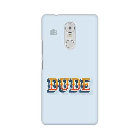 Dude Lenovo K6 Note Phone Cover