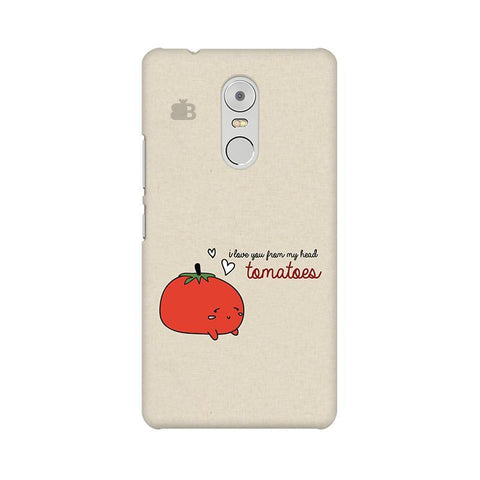 From head tomatoes Lenovo K6 Note Phone Cover