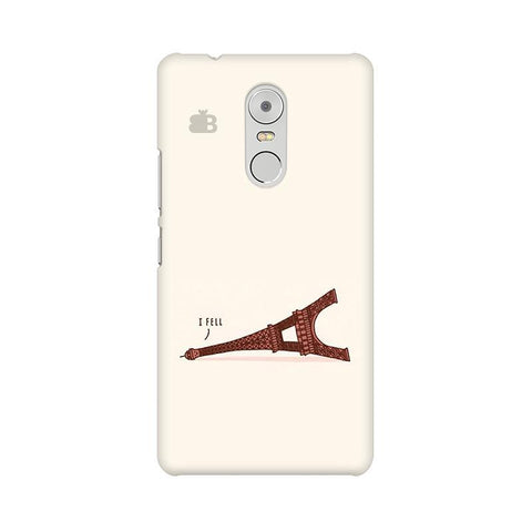 I Fell Lenovo K6 Note Phone Cover