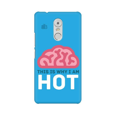 Intellectually Hot Lenovo K6 Note Phone Cover