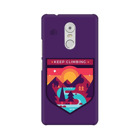 Keep Climbing Lenovo K6 Note Phone Cover
