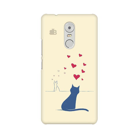 Kitty in Love Lenovo K6 Note Phone Cover