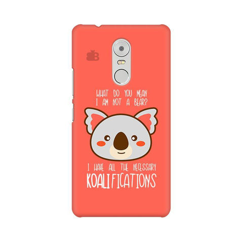 Koalifications Lenovo K6 Note Phone Cover