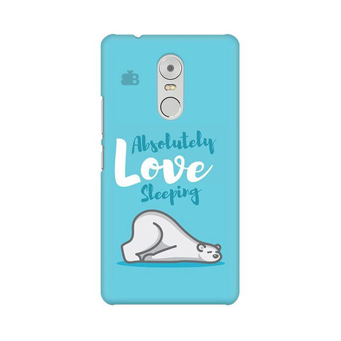 Love Sleeping Lenovo K6 Note Phone Cover