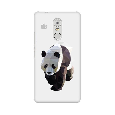 Low Poly Panda Lenovo K6 Note Phone Cover