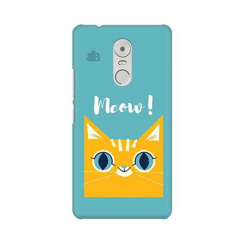 Meow Lenovo K6 Note Phone Cover