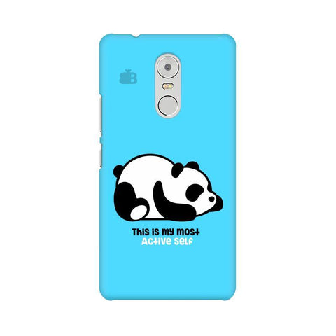 Most Active Panda Lenovo K6 Note Phone Cover