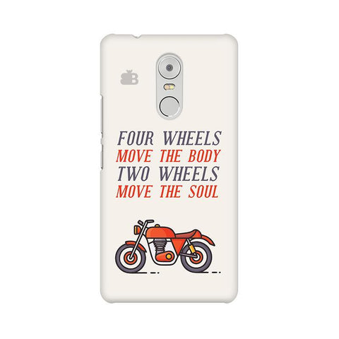 Motorcyclist Lenovo K6 Note Phone Cover