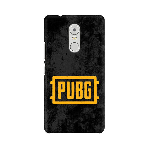 PUBG Lenovo K6 Note Cover