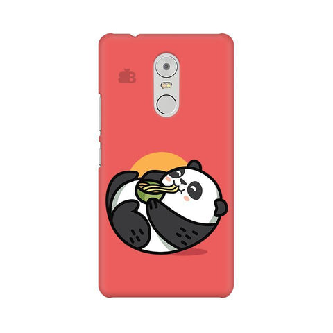 Panda eating Noodles Lenovo K6 Note Phone Cover