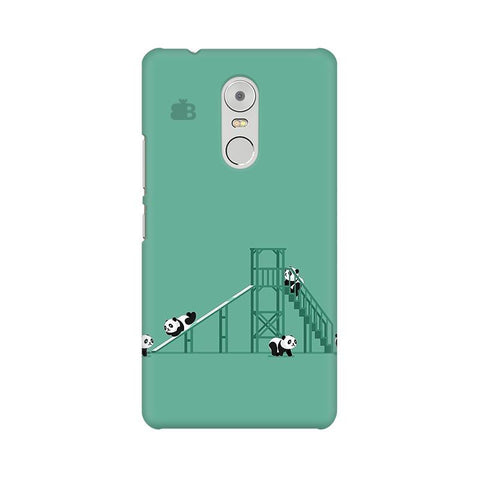 Pandas Playing Lenovo K6 Note Phone Cover