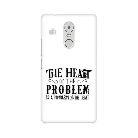 Problem of the Heart Lenovo K6 Note Phone Cover