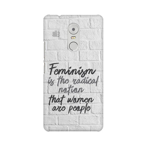 Radical Feminism Lenovo K6 Note Phone Cover
