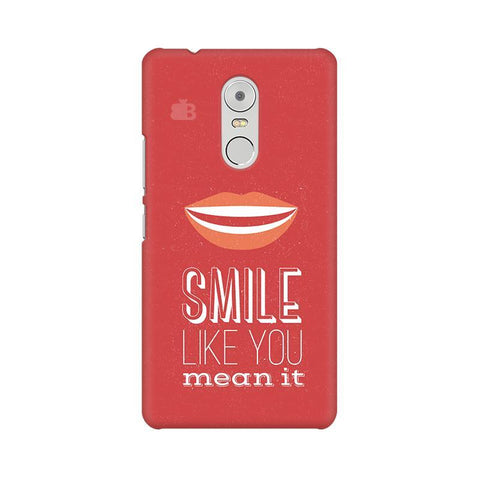 Smile Lenovo K6 Note Phone Cover