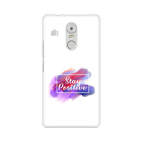 Stay Positive Lenovo K6 Note Phone Cover