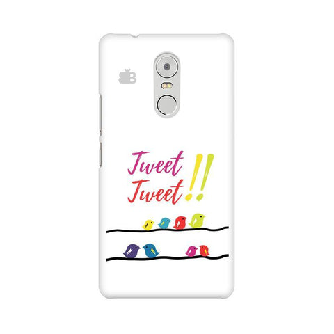 Tweet Tweet Lenovo K6 Note Phone Cover