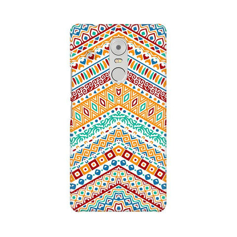 Wavy Ethnic Art Lenovo K6 Note Phone Cover