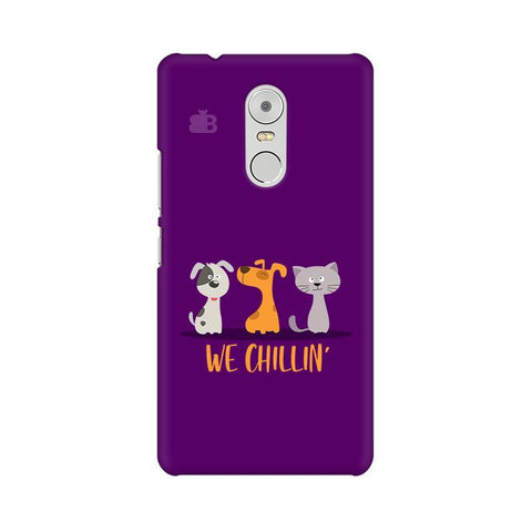 We Chillin Lenovo K6 Note Phone Cover