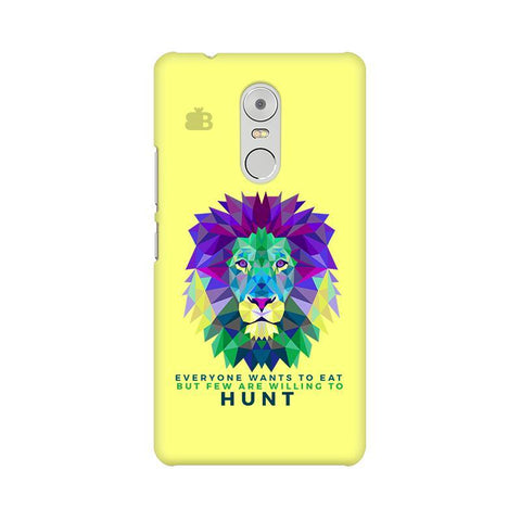 Willing to Hunt Lenovo K6 Note Phone Cover