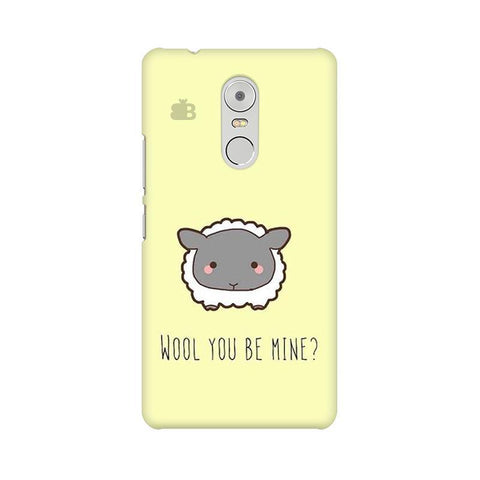 Wool Lenovo K6 Note Phone Cover