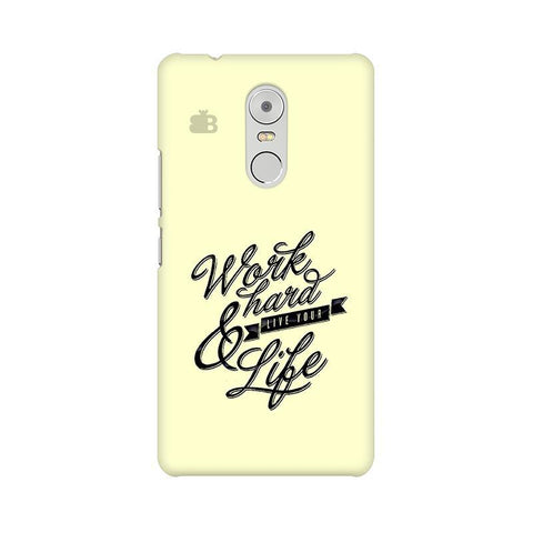 Work Hard Lenovo K6 Note Phone Cover