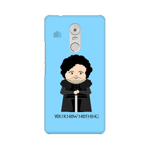 You Know Nothing Lenovo K6 Note Phone Cover