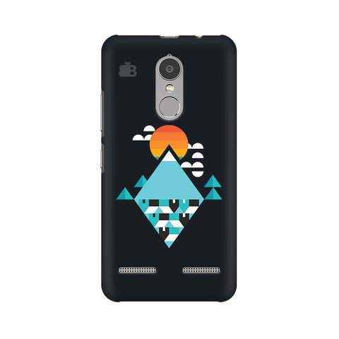 Abstract Mountains Lenovo K6 Power Phone Cover