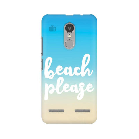 Beach Please Lenovo K6 Power Phone Cover