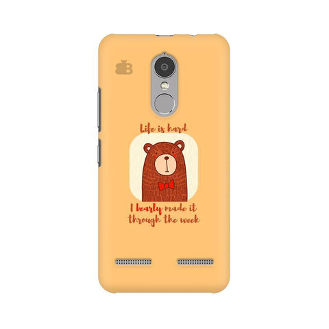 Bearly Made It Lenovo K6 Power Phone Cover