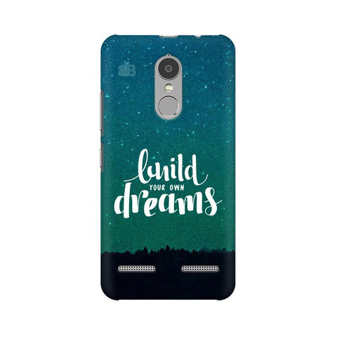 Build your own Dreams Lenovo K6 Power Phone Cover