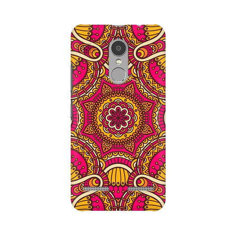 Colorful Ethnic Art Lenovo K6 Power Phone Cover