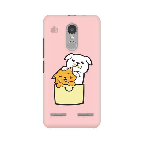 Kitty Puppy Buddies Lenovo K6 Power Phone Cover