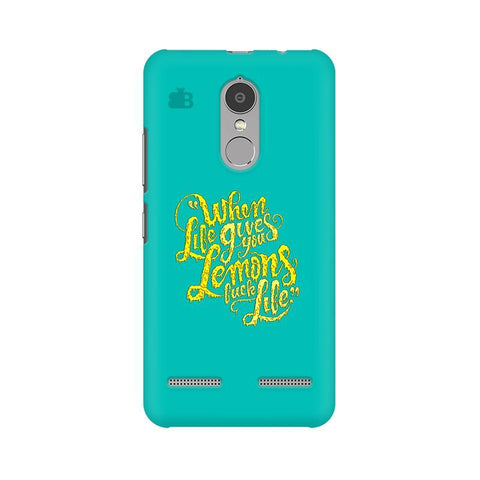 Life gives Lemons Lenovo K6 Power Phone Cover