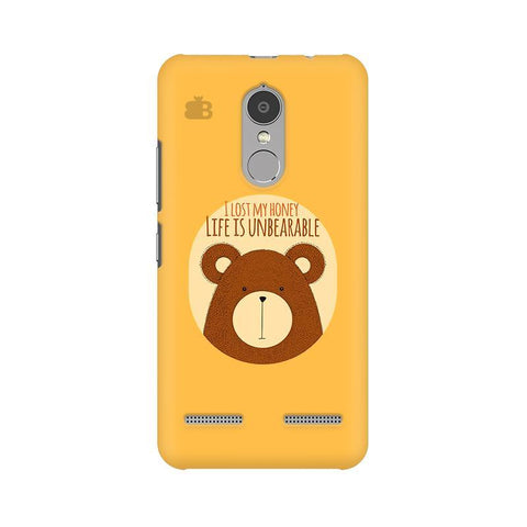Life is Unbearable Lenovo K6 Power Phone Cover