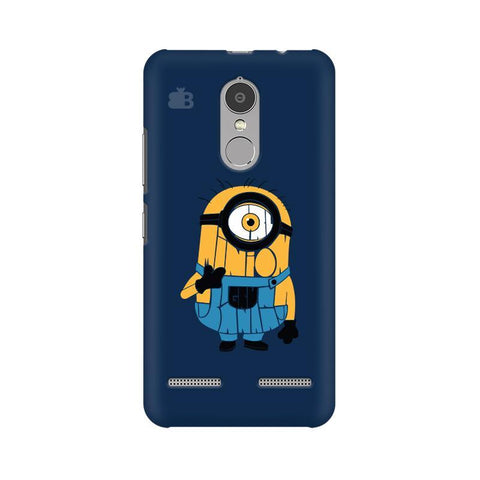 Minion Typography Lenovo K6 Power Phone Cover